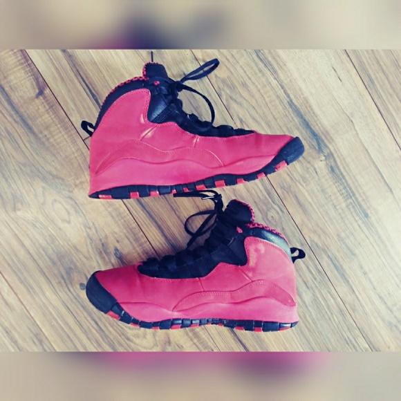 c78d616fe6f79d Jordan Other - Girls Nike Jordan 10 GS - Fusion Red  487211-605